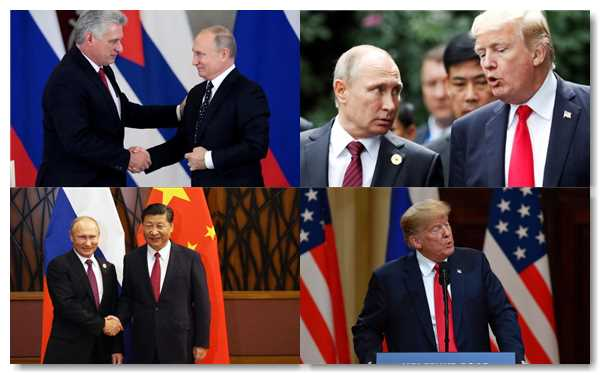 sanciones impuestas por EEUU a Rusia y China